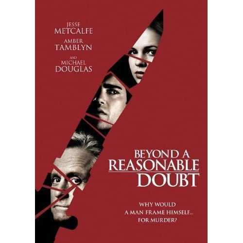 Image 0 of Beyond A Reasonable Doubt On DVD With Michael Douglas Mystery