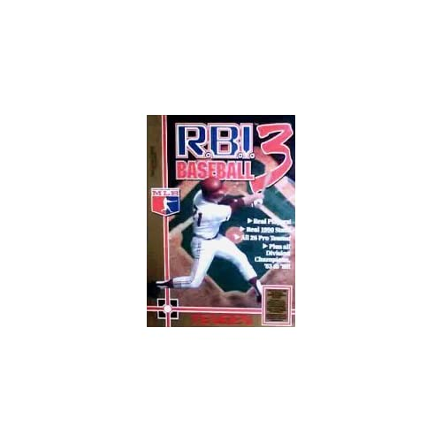 Image 0 of RBI Baseball 3 For Nintendo NES Vintage