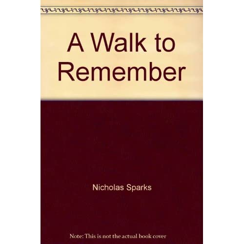 Image 0 of A Walk To Remember By Nicholas Sparks On Audio Cassette