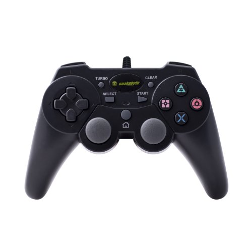 Snakebyte PS3 Premium Wired Controller For PlayStation 3 Black PDI457