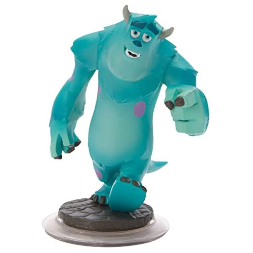 Sulley Monsters Inc Disney Infinity Figure Loose No Card Character