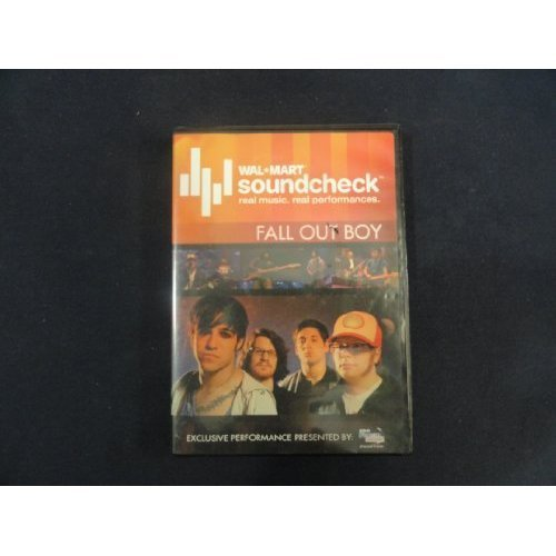 Image 0 of Wal* Mart Soundcheck Fall Out Boy On DVD
