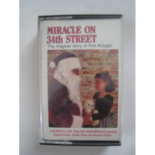 Image 0 of Miracle On 34th Street/audio Cassette On Audio Cassette