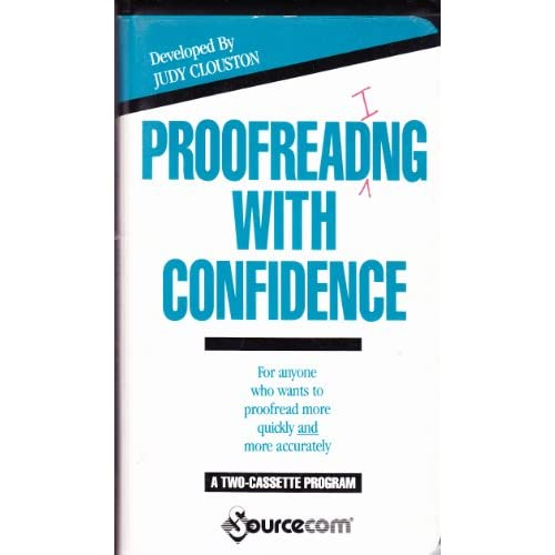Image 0 of Proofreading With Confidence On Audio Cassette