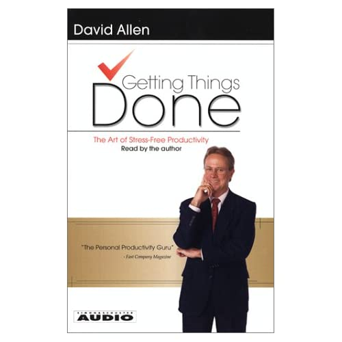 Image 0 of Getting Things Done: The Art Of Stress-Free Productivity By David Allen On Audio