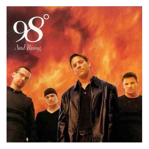 98 And Rising By 98 Degrees On Audio CD Album Pop 1998