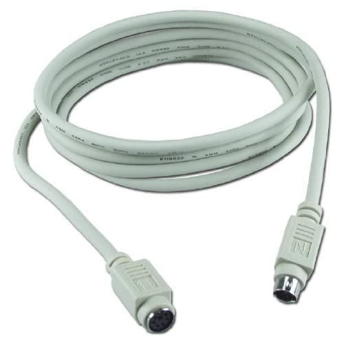 Image 0 of QVS CC321-10S 10 Ft PS-2 Male To Female Keyboard & Mouse Extension Cable