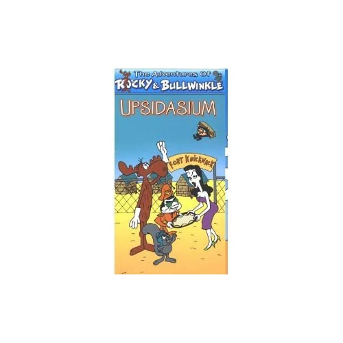 Image 0 of The Adventures Of Rocky Bullwinkle: Upsidasium On VHS Tape