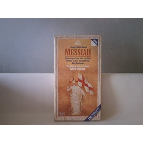 Image 0 of Handel:messiah By Pinnock On Audio Cassette