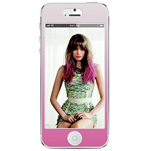Agent 18 Decorative Screen Protector For iPhone 5 5S 5C SE Pink Ombre FRNT/129