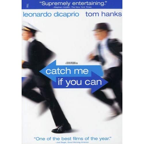 Image 0 of Catch Me If You Can Full Screen On DVD With Leonardo Dicaprio Comedy