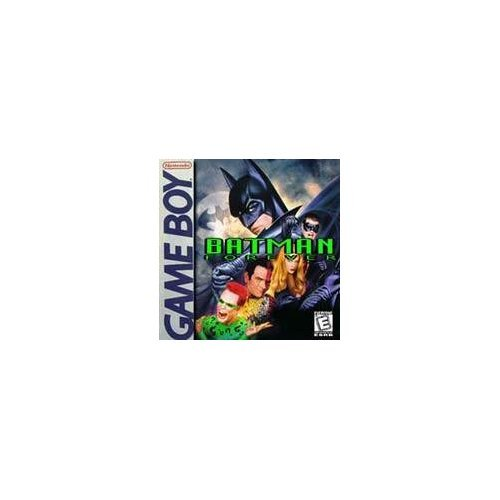 Batman Forever On Gameboy