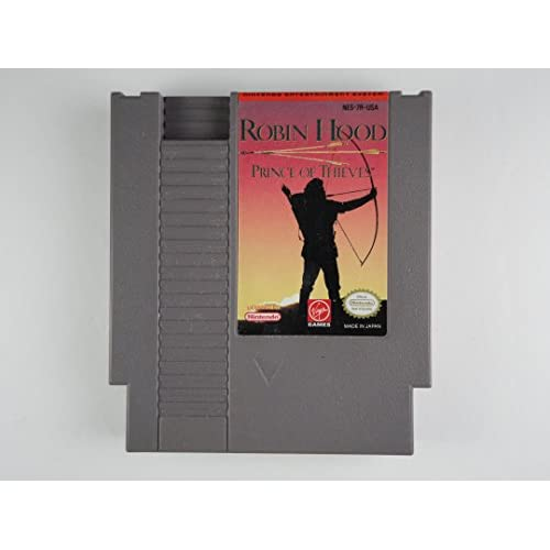 Image 0 of Robin Hood: Prince Of Thieves For Nintendo NES Vintage RPG