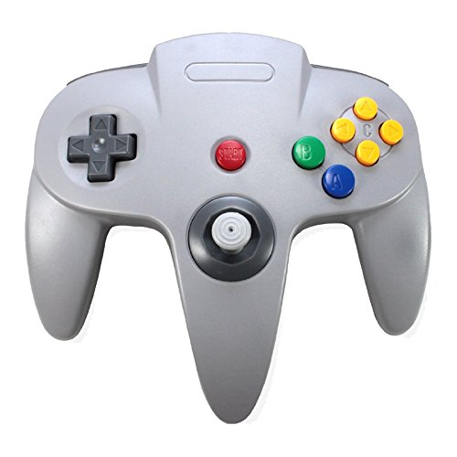 Image 0 of 3rd Party Nintendo 64 N64 Classic Controller Gray