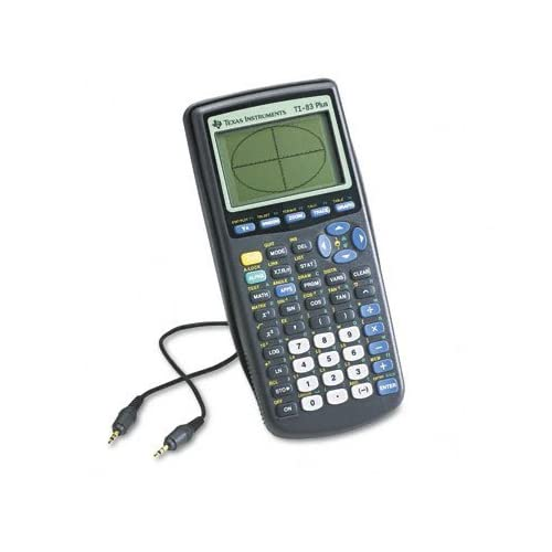 Image 0 of Texas Instruments TI-83 Plus Programmable Graphing Calculator Packaging And By T