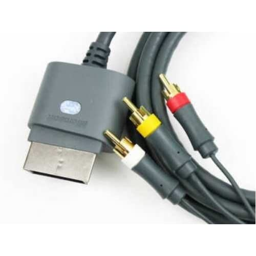 Image 0 of Genuine Official OEM Microsoft Xbox 360 Audio Video AV Composite Cable