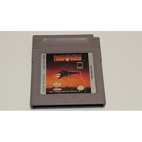Image 0 of Turn And Burn The F-14 Dogfight Simulator On Gameboy Color