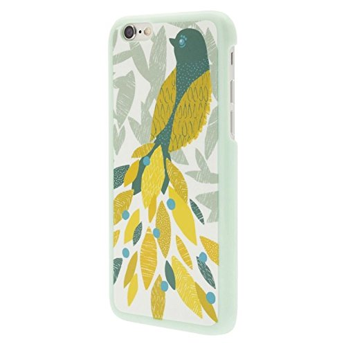 Jade Jewel Bird Cell Phone Case For iPhone 6 White/blue CO8407