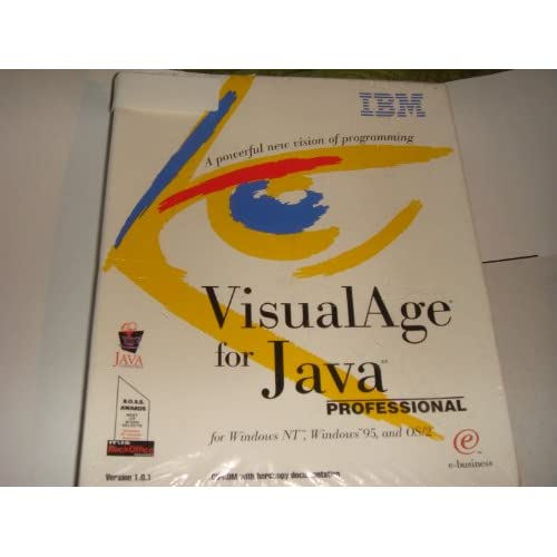 Image 0 of Visualage For Java Professional Edition 1.0.1 Visual Age For Java Software