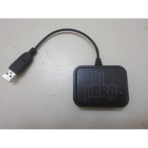 DJ Hero 2 Wireless Turntable Receiver For PlayStation 3 PS3 Black Dongle