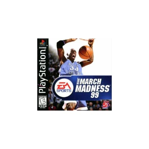 Image 0 of NCAA March Madness 99 For PlayStation 1 PS1 Basketball