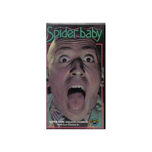 Image 0 of Spider Baby On VHS