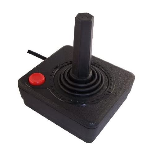 2600 Joystick Controller For Atari Vintage Black