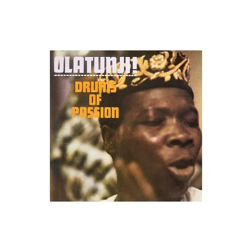 Image 0 of Drums Of Passion By Babatunde Olatunji On Audio Cassette