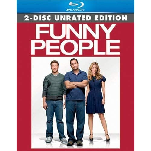 Funny People Two-Disc Unrated Edition Blu-Ray On Blu-Ray With Adam Sandler 2