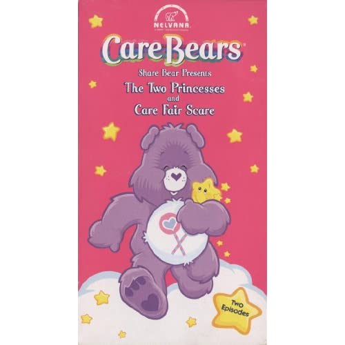 Image 0 of Care Bears Share Bear Presents The Two Princesses And Care Fair Scare On DVD 2