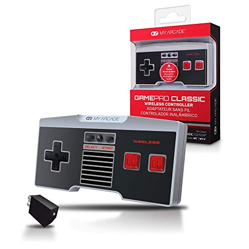 Image 0 of My Arcade Gamepad Classic Wireless Game Controller Compatible With Nintendo NES