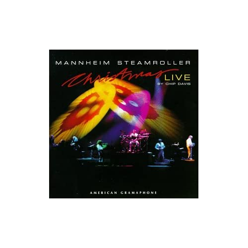 Christmas Live By Mannheim Steamroller On Audio Cassette