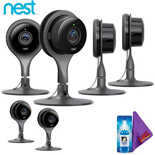 Image 0 of Nest Cam Indoor Security Camera Pack Of 6 Full HD Video