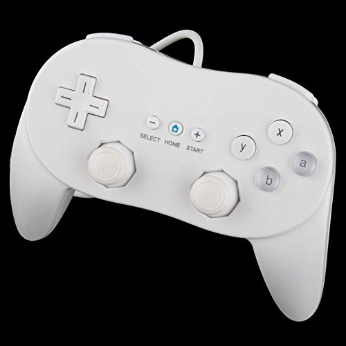 Image 0 of New Classic Pro Controller White For Wii NES Classic