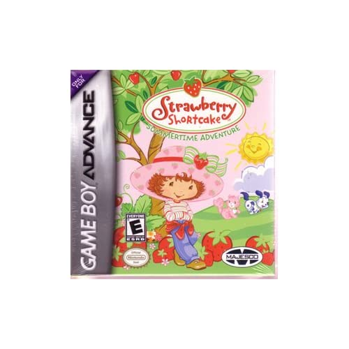 Strawberry Shortcake Summertime Adventure For GBA Gameboy Advance