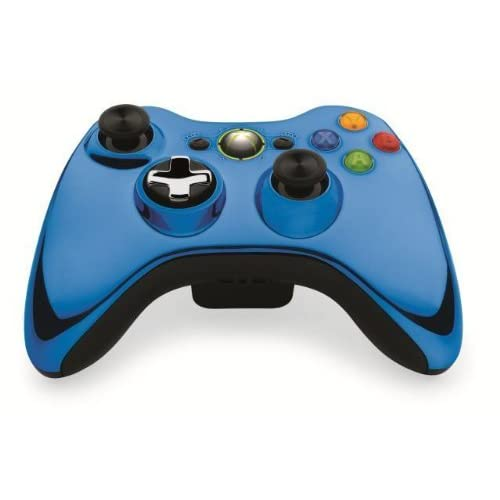 Image 0 of Microsoft OEM Wireless Controller Chrome Blue For Xbox 360