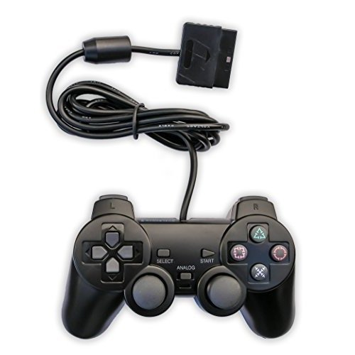 Image 0 of Replacement Playstiaton PS2 Black Controller