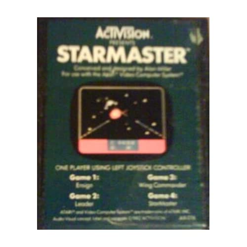 2600 Starmaster By Activision For Atari Vintage
