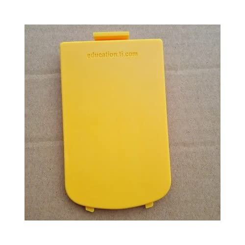 Battery Cover For Texas Instruments Ti 84 Plus Yellow