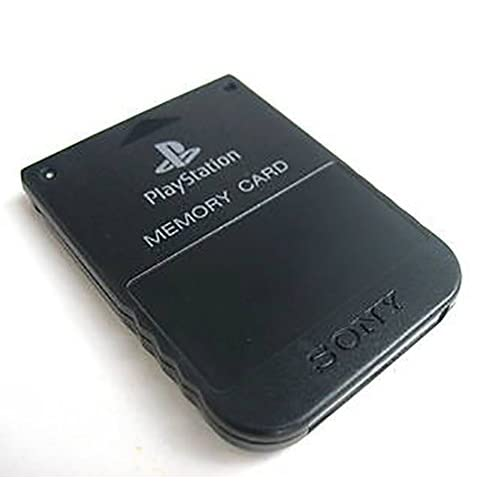 Image 0 of Sony OEM PlayStation Memory Card Black For PlayStation 1 PS1 Expansion