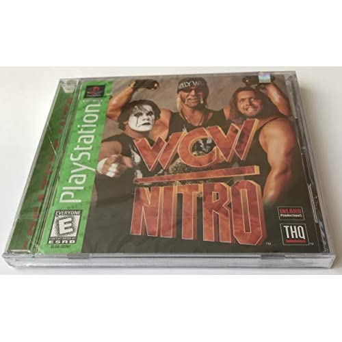 Image 0 of WCW Nitro For PlayStation 1 PS1 Fighting