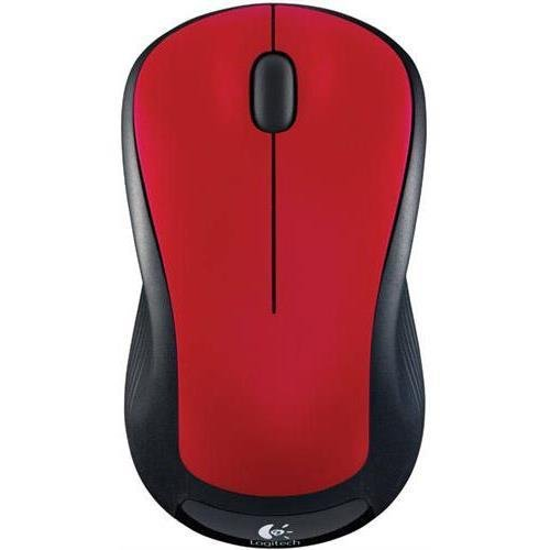 Image 0 of Logitech M310 910-002486 Flame Red 3 Buttons 1 X Wheel USB RF Wireless Laser Mou