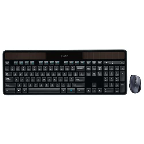 Image 0 of Logitech MK750 Wireless Solar Keyboard And Wireless Marathon Mouse Combo For PC