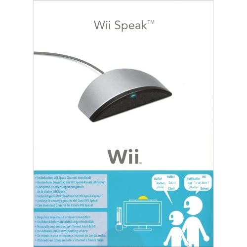 Image 0 of Official Speak Microphone For Wii Gray 2111766