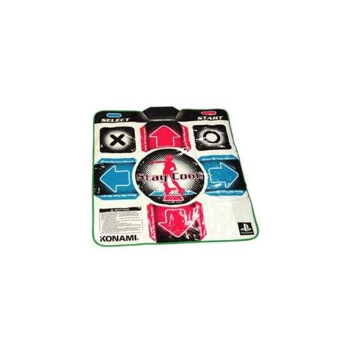 Image 0 of Konami Stay Cool! Non-Slip Dance Pad For PS1/PS2 For PlayStation 1 Multi-Color M