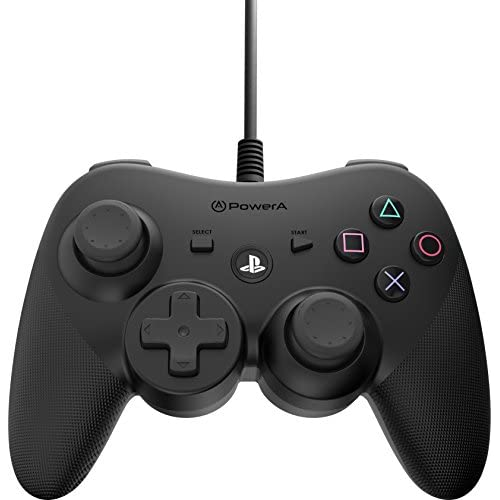 Image 0 of PowerA Wired Controller For PS3 Black For PlayStation 3 1429765-01