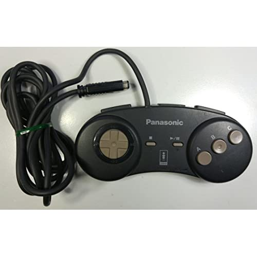 3DO FZ-JP1X For 3DO Vintage Black Controller