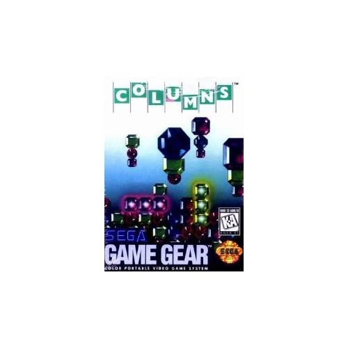 Columns For Sega Game Gear Vintage Puzzle
