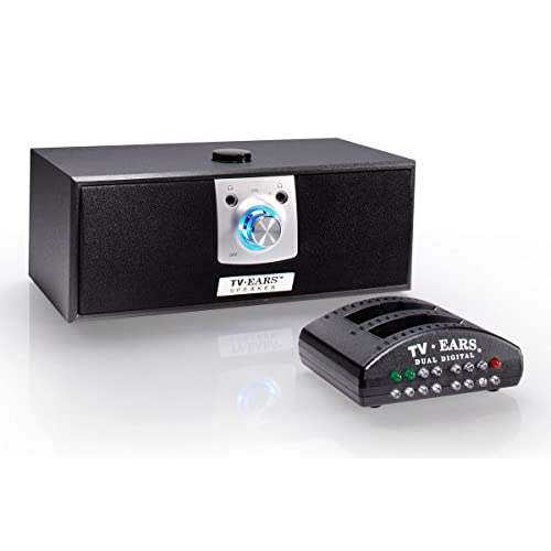 Image 0 of TV Ears Digital Wireless Speaker System Place Near Your Chair Or Couch Transmitt