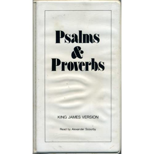 Image 0 of Alexander Scourby Narrates King James Version Of The Dramatized Psalms And Prove